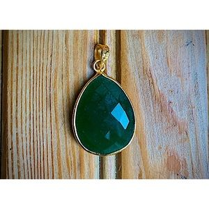Magical Green & Gold Pendant